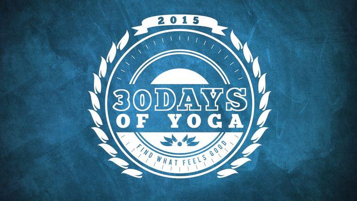Ik durf nog niet te zeggen dat het me gaat lukken om 30 dagen yoga te doen, maar ik wil in ieder geval twee keer per week yoga doen. Dat lijkt haalbaar!