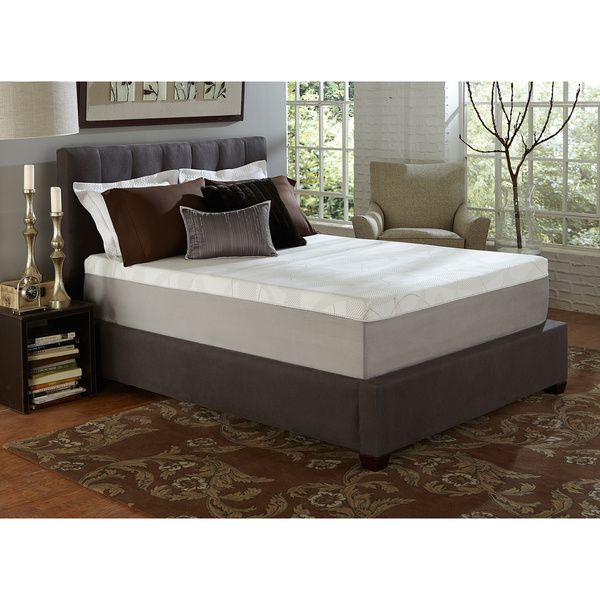 slumber solutions choose your comfort 12inch kingsize memory foam mattress