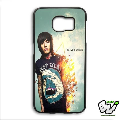 Burning Oliver Sykes Samsung Galaxy S6 Edge Plus Case