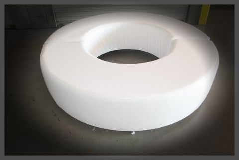 """THE RING / 10 People / 72"""" x 18"""" – Lounge Party Rentals   https://lounge-party-rentals.myshopify.com/  http://www.lounge-party-rentals.com/   https://www.facebook.com/LoungeFurnitureRent  http://www.pinterest.com/LoungePartyRent/  http://instagram.com/loungepartyrentals/#"""