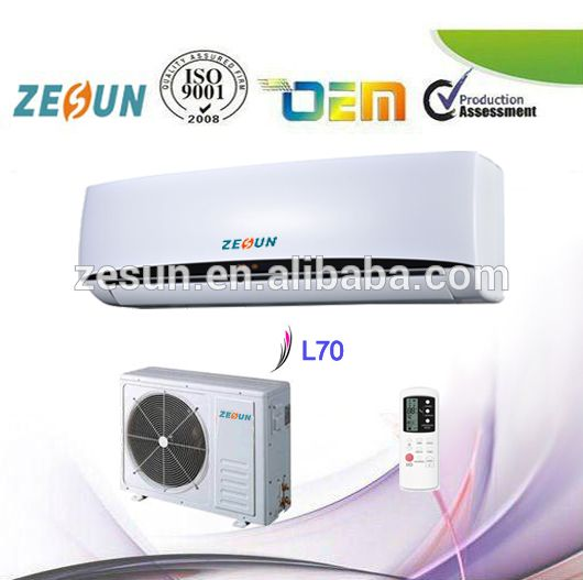 Wall-Mounted Unit DC Inverter Type Split System Air Conditioners LED Display Factory Price