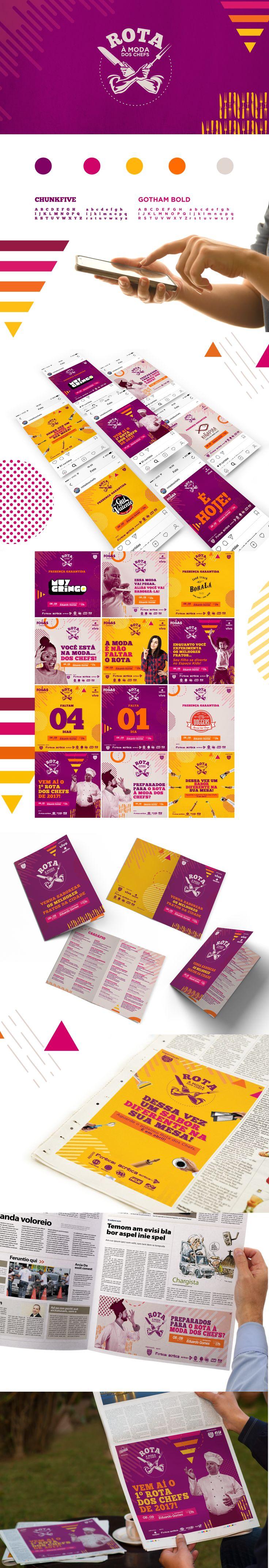 Confira este projeto do @Behance: u201cRota à Moda dos Chefsu201d https://www.behance.net/gallery/52045609/Rota-a-Moda-dos-Chefs