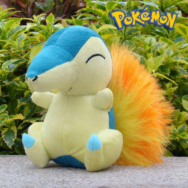 Nintendo Pokemon Plush Character Toy Cyndaquil Soft Game Stuffed Animal Doll #Nintendo