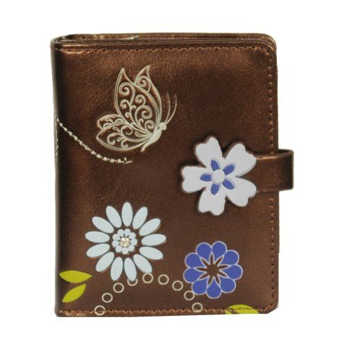 Shagwear Bronze Flower Butterfly Small Wallet  for the teenage niece - she takes it to junior college!   http://www.amazon.com/gp/product/B00E4OL7FK