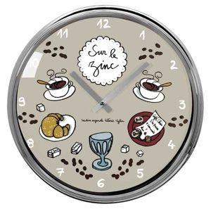 Horloge Sur le zinc