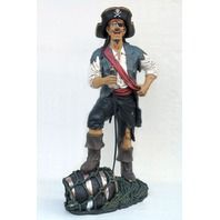 Funny Pirate Statue Life Size   use code 'cindy' for discount on these items lmtreasures.com for more great items code cindy for all discounts see my other pins for great cool items 626-252-7354