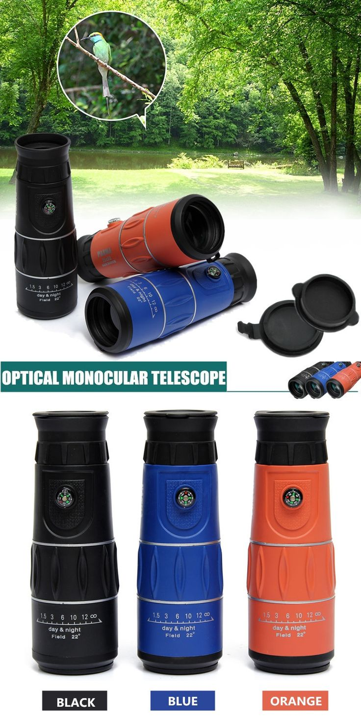 26×52 HD Night Vision Monocular 66M/8000M Outdoor Camping Travel Clear Zoom Optical Telescope