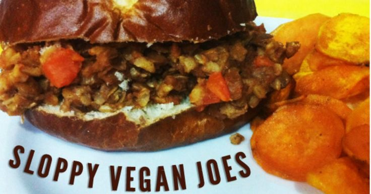 Our freezer recipe for vegan sloppy joes with lentils is a quick slow cooker meal that will greet you with its delicious smell as you walk in the door.