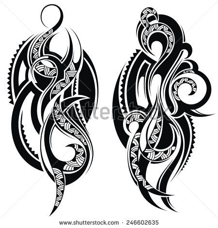 Tattoo  element - stock vector