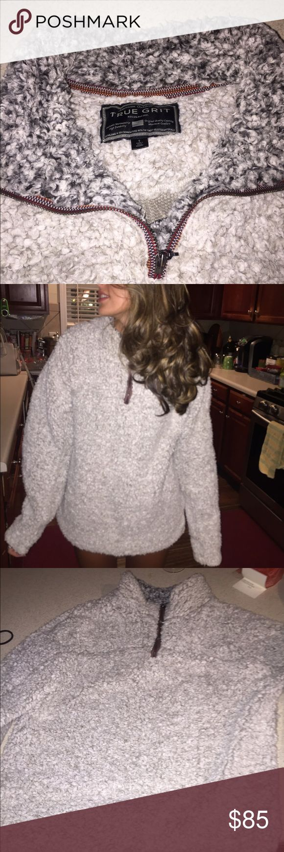 True Grit Pullover worn once, perfect condition. Jackets & Coats