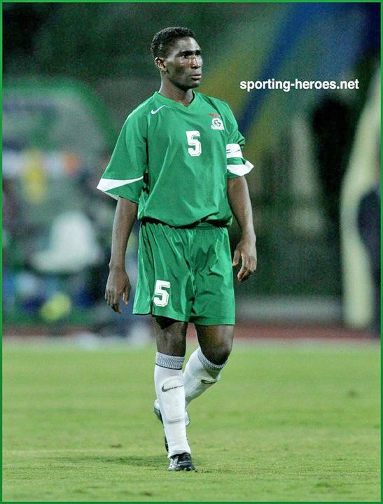 Elijah Tana - Zambia - African Cup of Nations 2006