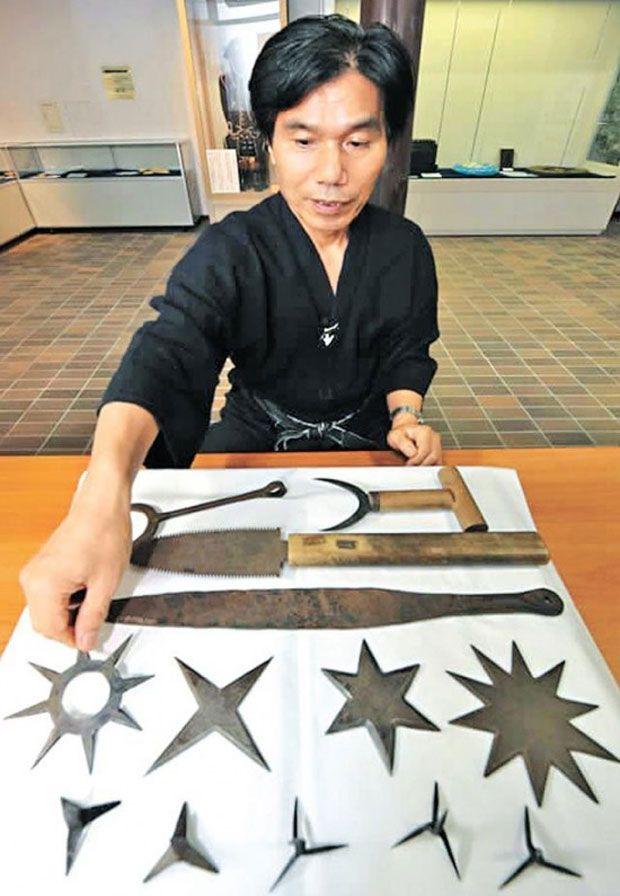 O último ninja tem 63 anos e não vai passar seus ensinamentos pra ninguém