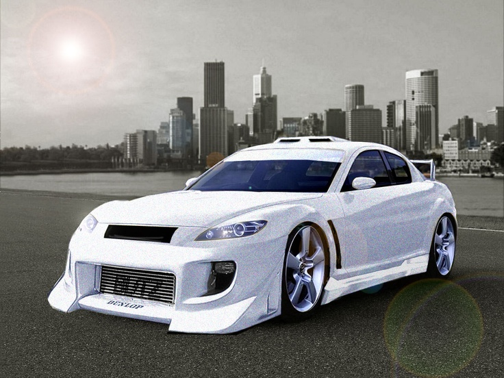 Modified Mazda RX-8!