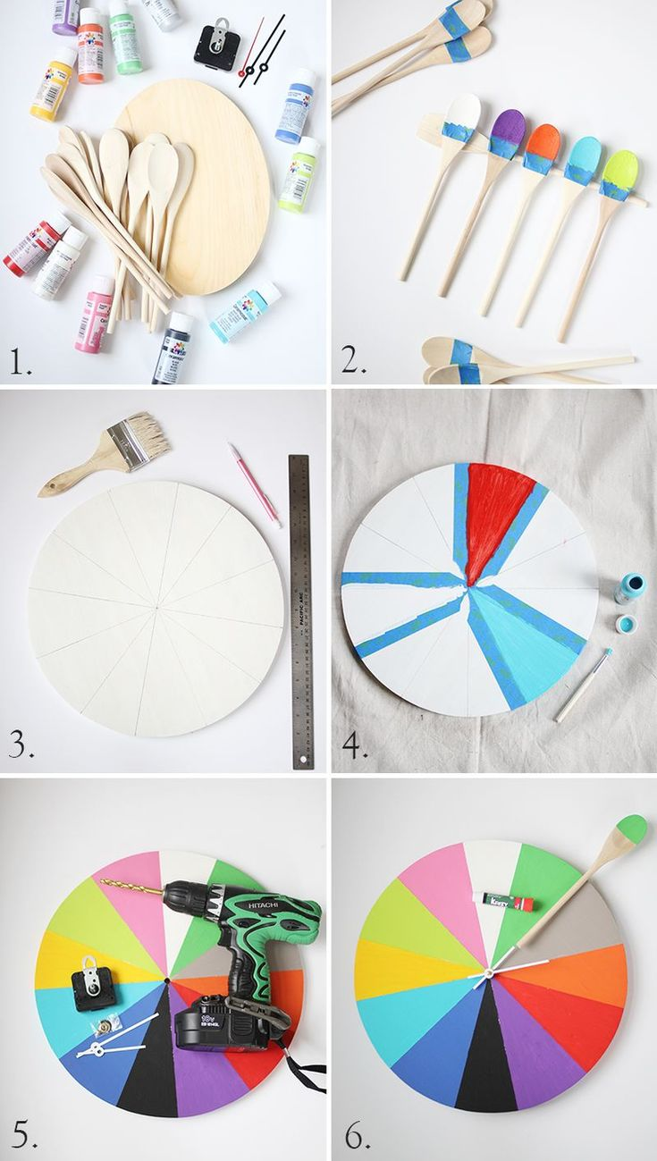 how to make my own clock