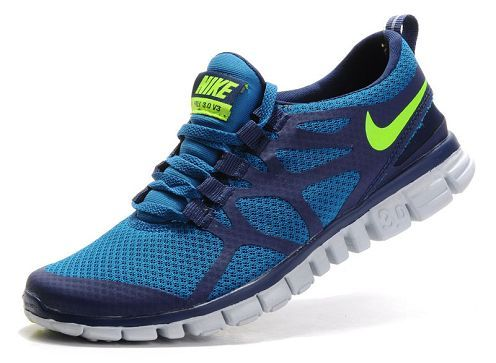 nike free 3.0 v3 womens running shoe royal dark blue volt sale