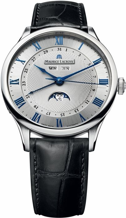Maurice Lacroix Masterpiece Phase de Lune Mens Watch MP6607-SS001-110