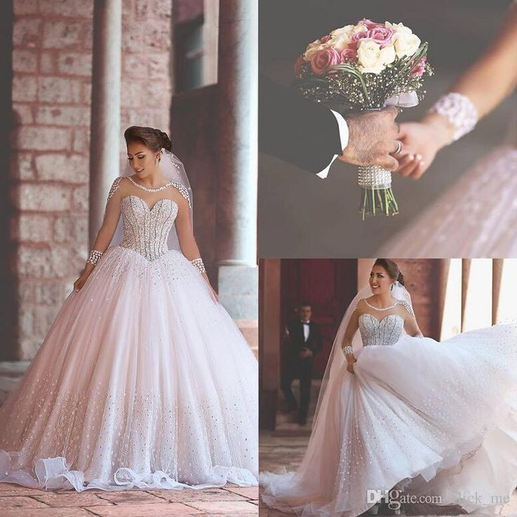 Vintage long sleeves wedding dresses 2016 modest jewel for Cheap wedding dresses in dubai