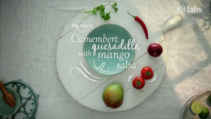 Camembert Quasadilla & mango salsa - The Guardian / Animated Recipe on Vimeo
