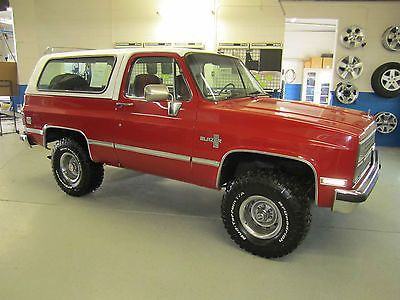 Chevy K5 Blazer.
