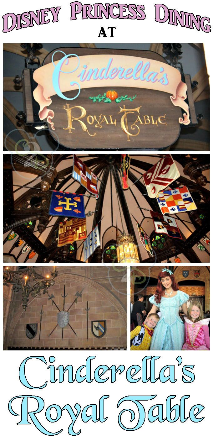 Tips on dining with Disney Princesses at Cinderella's Royal Table at Walt Disney World