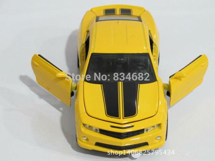 JG Чен Очень Крутой 1:32 Chevrolet Camaro Спортивный Автомобиль Шмель Модели сплава Автомобиля Игрушки Дети Подарок На День Рождения 2 Цветов Масштаба модели