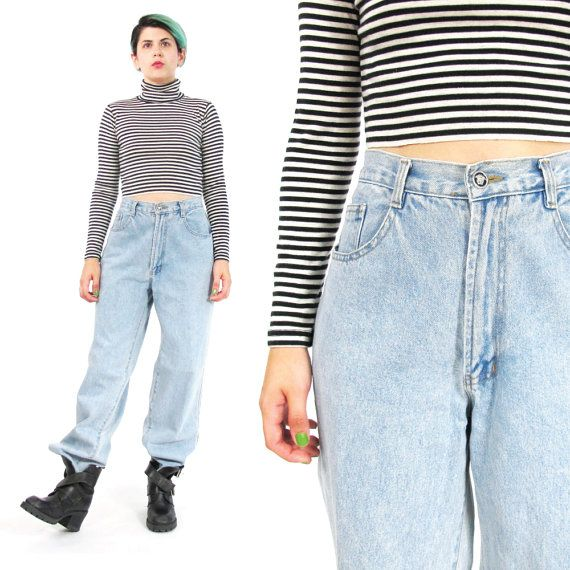 90s Versace Jeans Couture High Waist Mom Jeans by honeymoonmuse