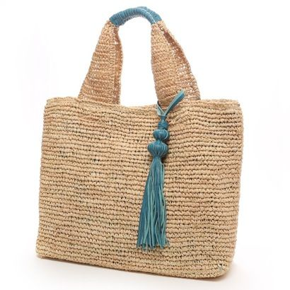 Tassel on tote