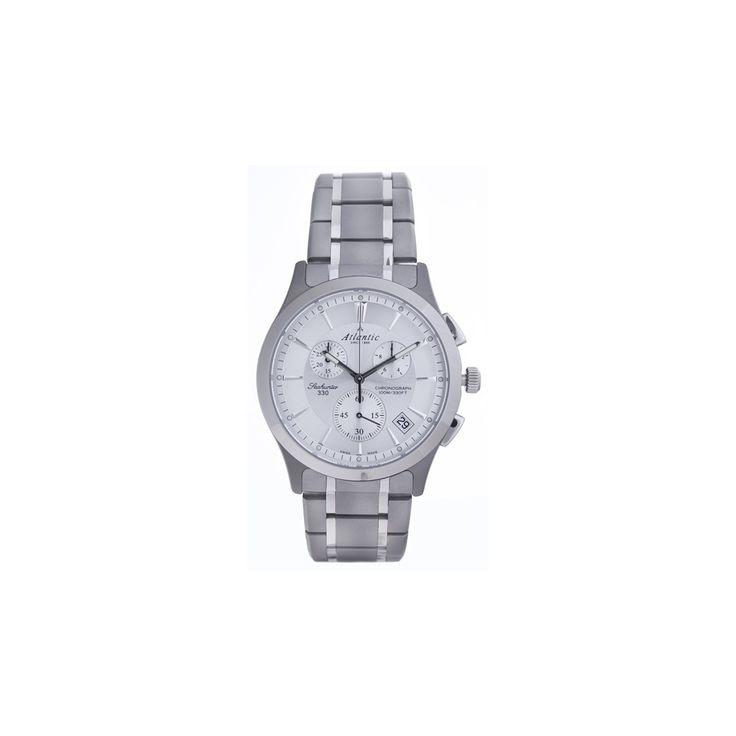 Atlantic Seahunter Chrono Titanium 71465.11.21 klasyka sama w sobie. Sprawdź na www.timetrend.pl lub w salonach Time Trend. #zegarek #zegarki #swissmade #atlantic