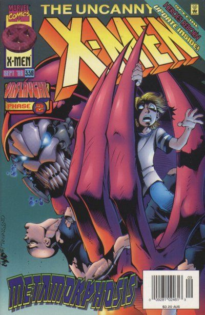 Uncanny X-Men # 336 by Joe Madureira & Tim Townsend
