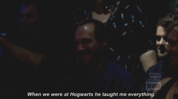 So basically Voldemort is friends with Lady Gaga and taught her everything she knows about strip clubs. | The 19 Most Fantastic Moments From Lady Gaga's Best Interview Ever