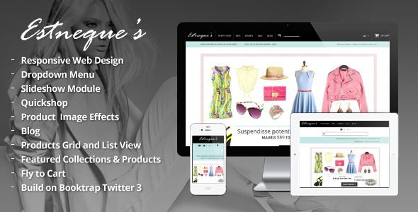 EstNeque - Clothing Store Fashion Shopify Theme & Template - Download Here : http://themeforest.net/item/clothing-store-shopify-theme-estneque/6605152?s_rank=129&ref=yinkira