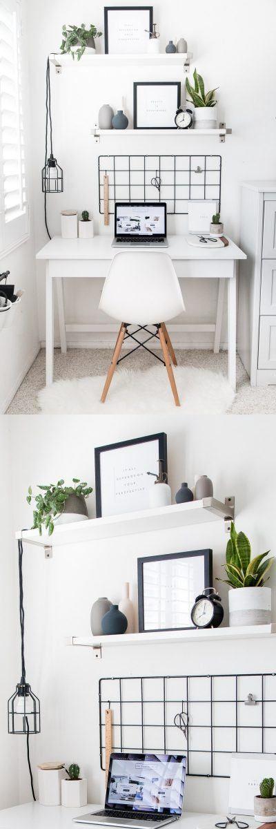 Oficina minimalista en casa habitacion en 2019 for Casa habitacion minimalista