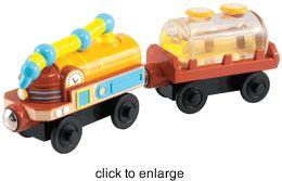 Chuggington WOOD - Fuel Cars - click to enlarge