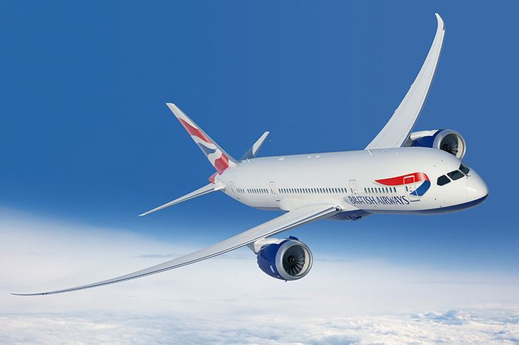 British Airways operates a route to Brazil with the Boeing 787-8 Dreamliner