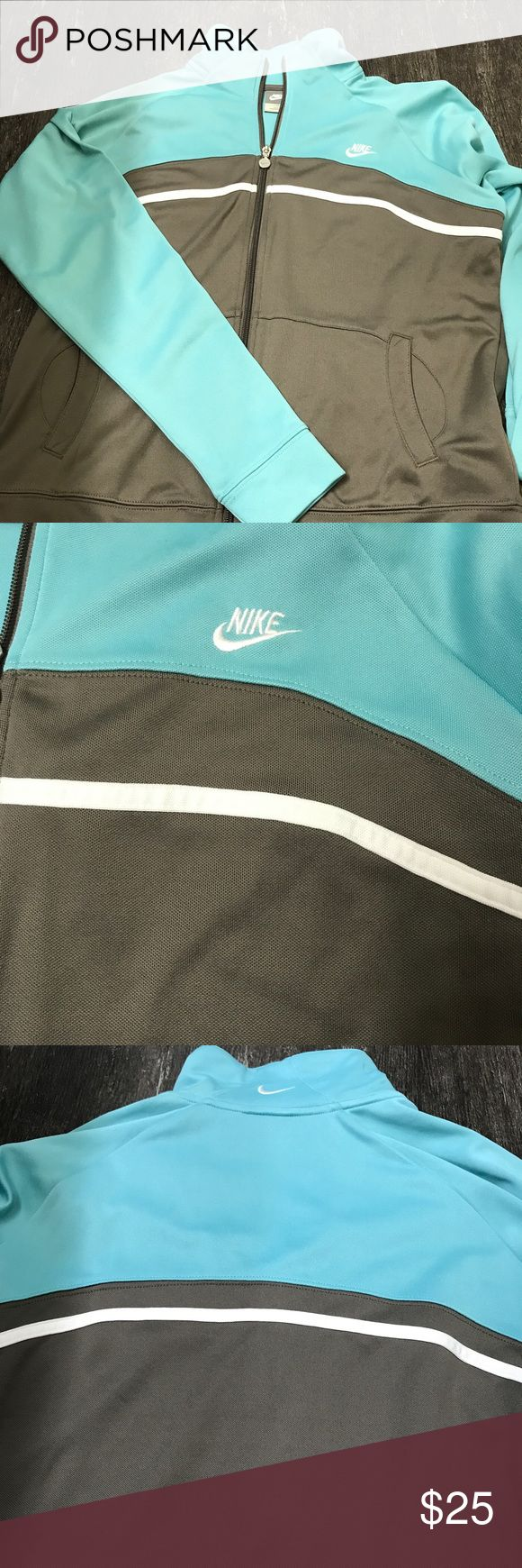 Nike jogging suit Super comfortable Nike jogging suit, T-shirt size medium, jacket size large, pants size small. Nike Other