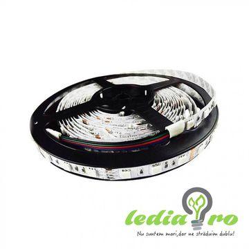 Banda LED 5050 RGB , INTERIOR , 60LED/M , DOAR 90 RON