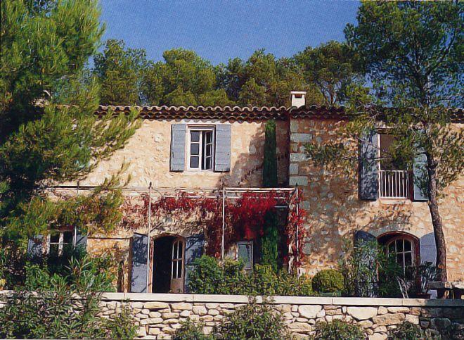 Coté Sud Bosc Architecte saint remy de provence luberon alpilles mas et bastide copie