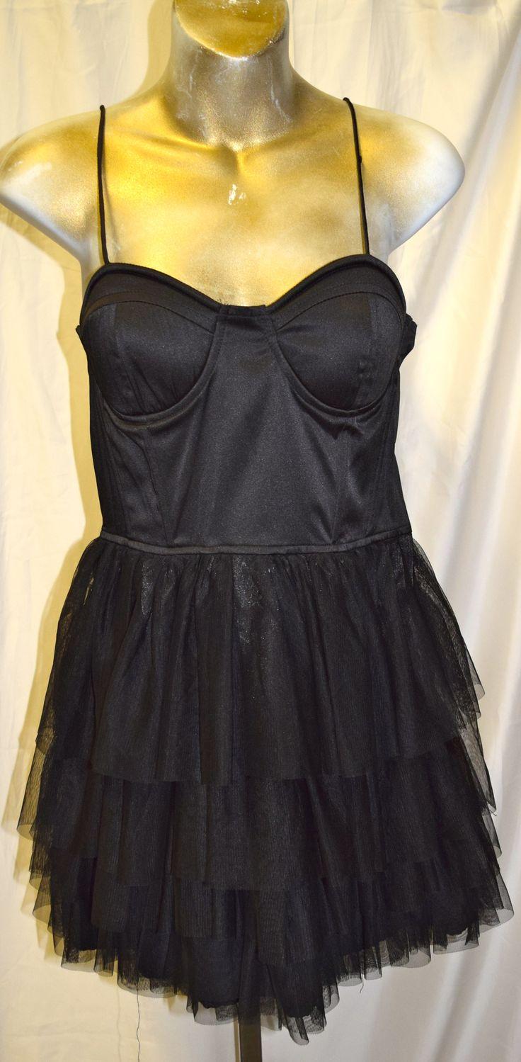 Vintage Corset with Crinoline Dress Small