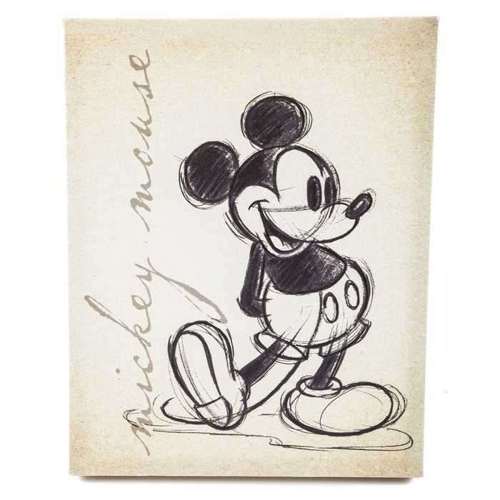 Get Tan Vintage Mickey Mouse Canvas Wall Art online or find other Wall Art products from HobbyLobby.com