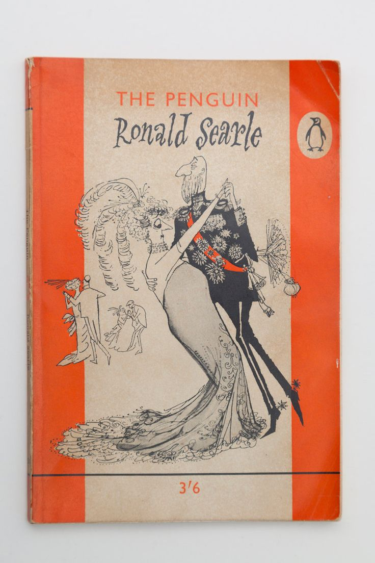 Penguin Book Cover Queen : The penguin ronald searle vintage book