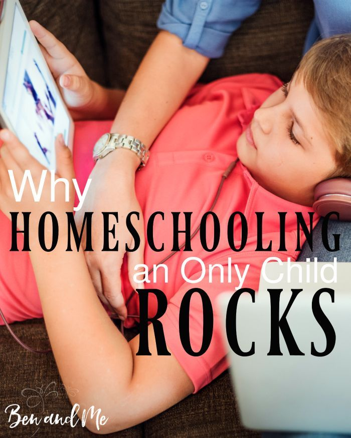 "Are you a mom of one wondering if you can be successful in homeschooling an only child? The answer is a resounding, ""YES!"""