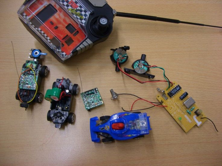 I sourced a lot of micro RC cars at ebay to use them for DIY projects. The cars are from Enertec. The call the product