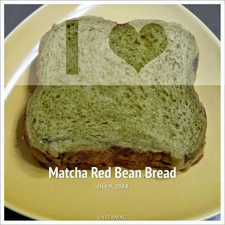 Baking S Corner Matcha Red Bean Wholemeal Bread Recipe By Jeslin