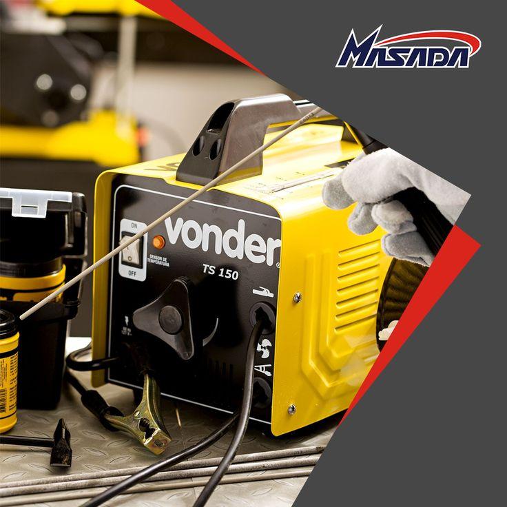 Ferramentas e equipamentos de qualidade é #Vonder!