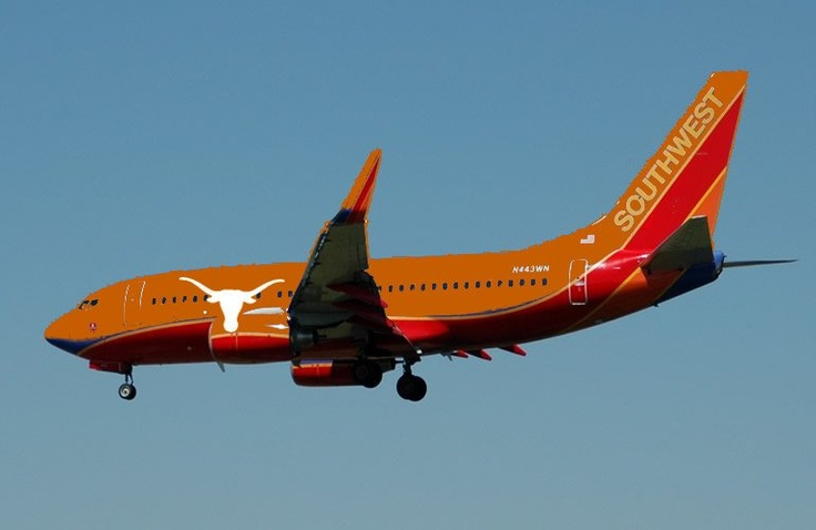 New UT Planes with Southwest Airlines - July, 2012