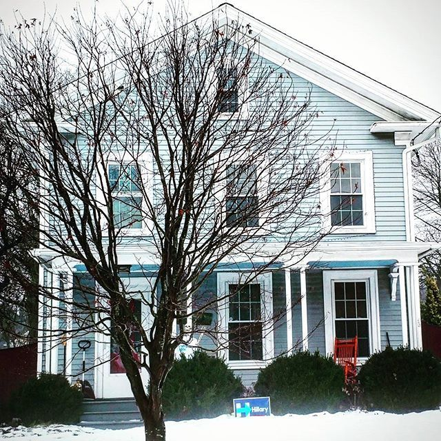 Online records say this Fairfield, CT home was built in 1776. If so, it likely got a Greek Revival update sometime early in the 19th century. Either way, with snow cover it looks ready for the carolers who were common sights during the home's early history. Caroling is another tradition Christians borrowed from pagan celebrations. Christmas was timed around what had been the winter solstice festivals. The first Christmas carol, 'An Angel's Hymn,' was sung at a Christmas service in Rome in…