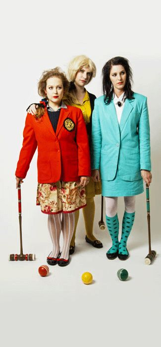 heathers croquet costume red yellow green heather 80s movie costumes - 80s Movies Halloween Costumes Ideas