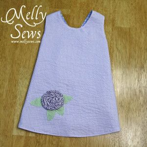 The next time you get wind of a new arrival, break out your sewing machine to make a baby dress like this Royal Baby Gown. This free pattern for baby clothes is a win-win for both parents and sewists.
