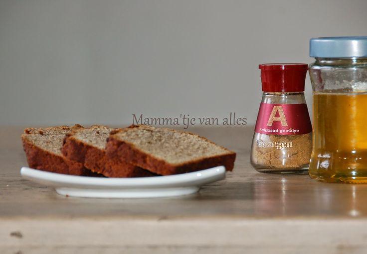 Mamma'tje van alles: Oudewijvenkoek (vrij van geraffineerde suikers en e-nummers)
