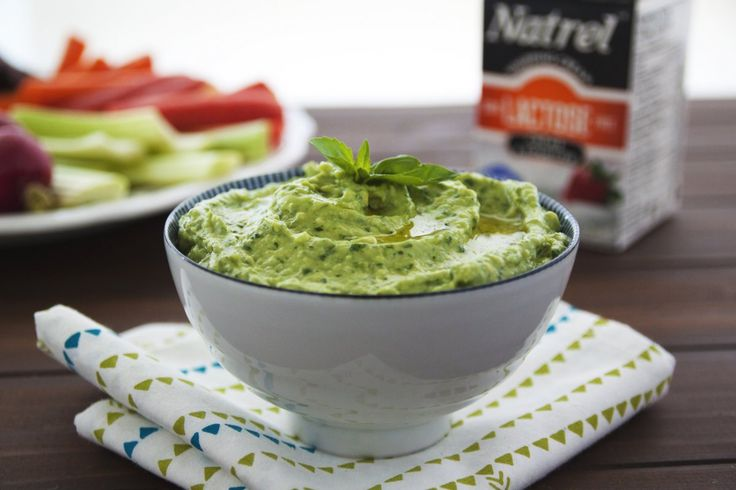 This modern spin on Green Goddess dip gets its creaminess in part from ripe avocado. A fresh, garlicky dip that's great with a vegetable platter.